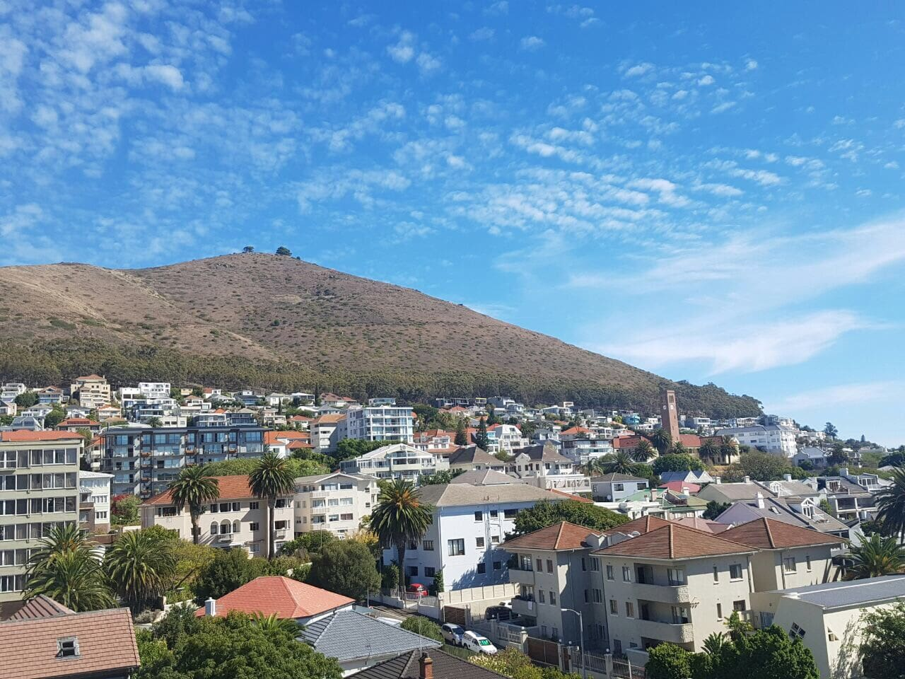 The view to your left from balcony - Signal Hill