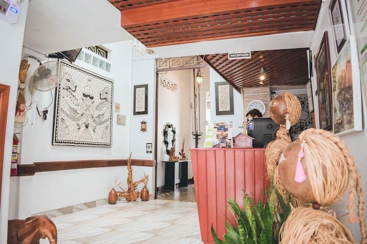 Hotel La Casona Iquitos, habitación doble