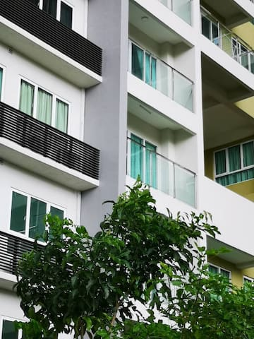 Nice condo in Penang island