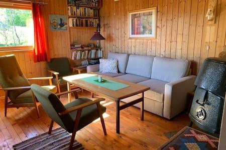 Enkel og koselig hytte til leige