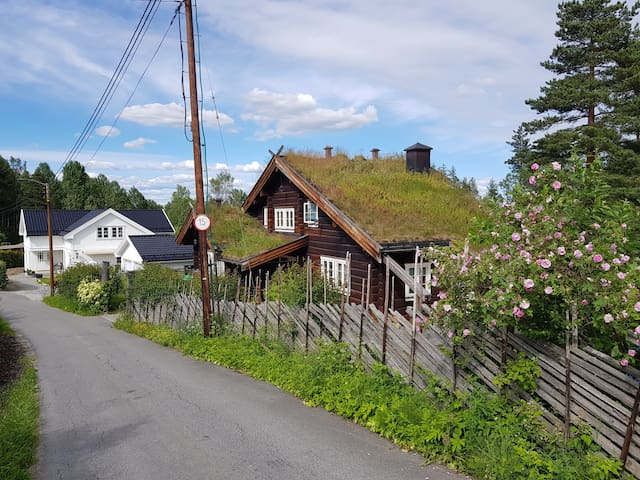 Beautiful log house 5 km from Drammen city centre