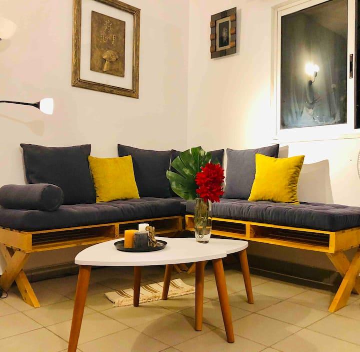 Bright apt with terrace & garden - Home dear home