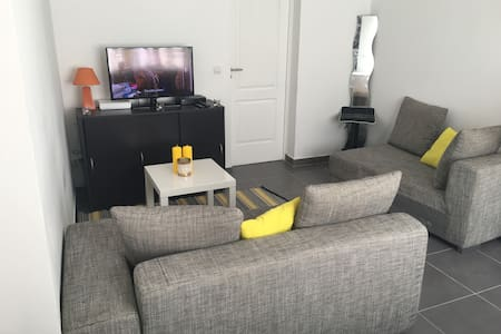Appartement de 35m², entrée privée,jardin,parking - Daire
