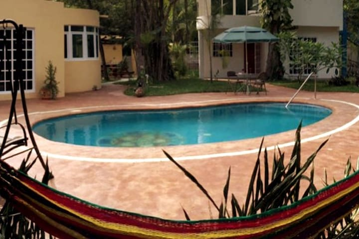 Pet Friendly Villa w/pool in Puerto Morelos cancun