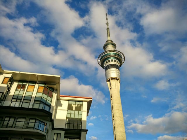 Cozy apartment right in heart of SkyTower - Auckland - Appartement