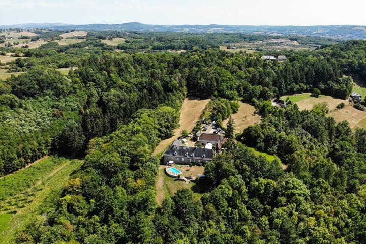 Maison de campagne – Entre Corrèze et Dordogne