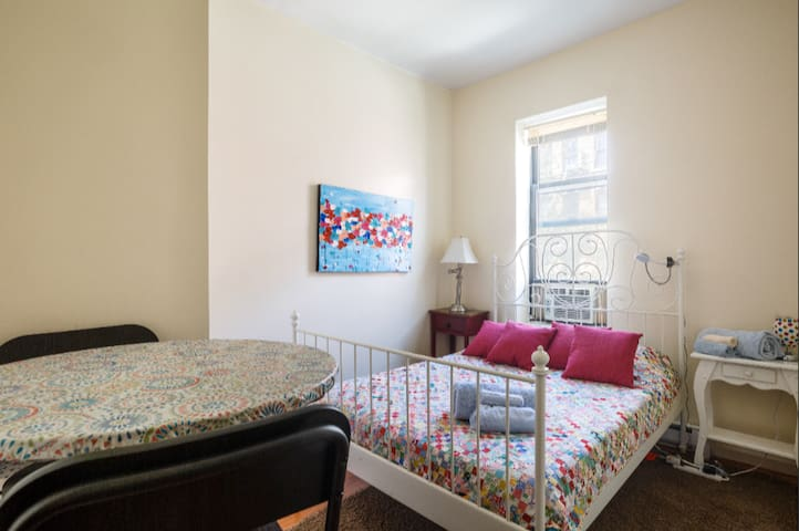 Country Touches Private Bedroom In Upper West Side