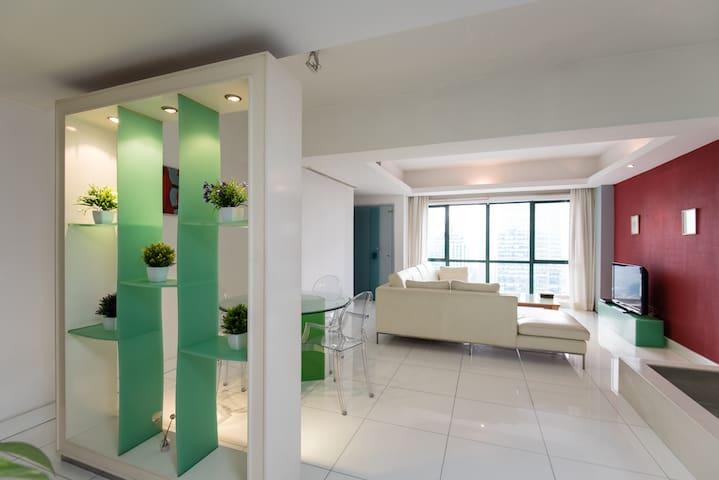 3 Bedroom Unit for 5 - 1km from KLCC - Kuala Lumpur - Pis