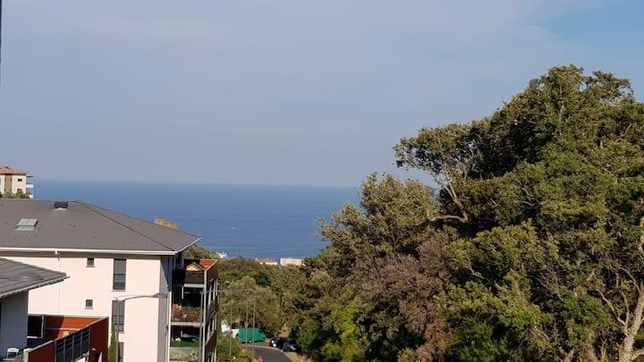 Superbe T1 à bastia vue sur mer