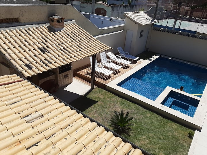 House in Cabo Frio with pool and maid!