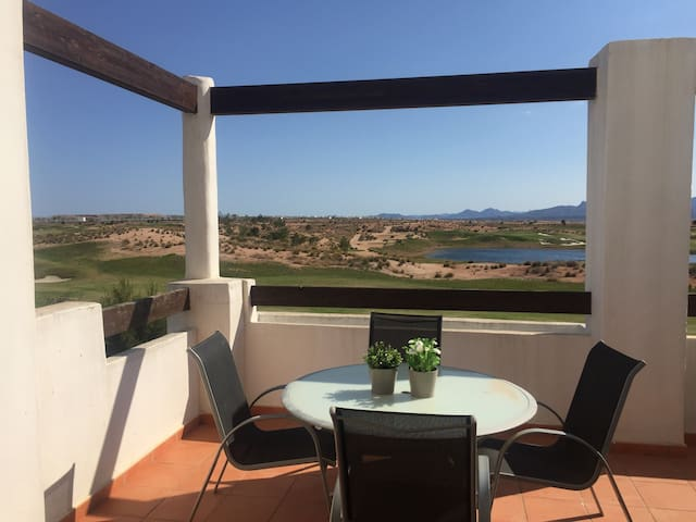 Penthouse holiday apartment - Alhama de Murcia