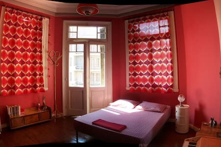 Downtown vintage-style room - Thessaloniki - Wohnung