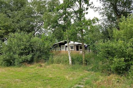 Caravan on mystical place. - Hilversum - Cabin