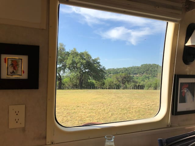 Wake up to a classic Hill Country View