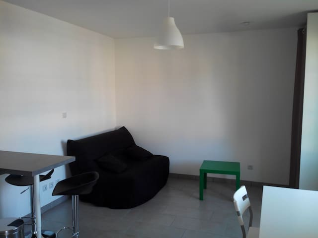 studio 2 personnes 21 m²