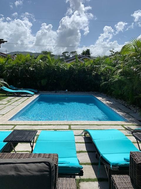 Palm BlossomJA (Private Pool, Private Beach)