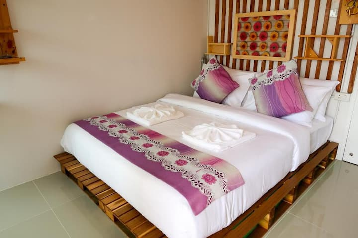 Deluxe Double Balcony at Baan URT Suratthani