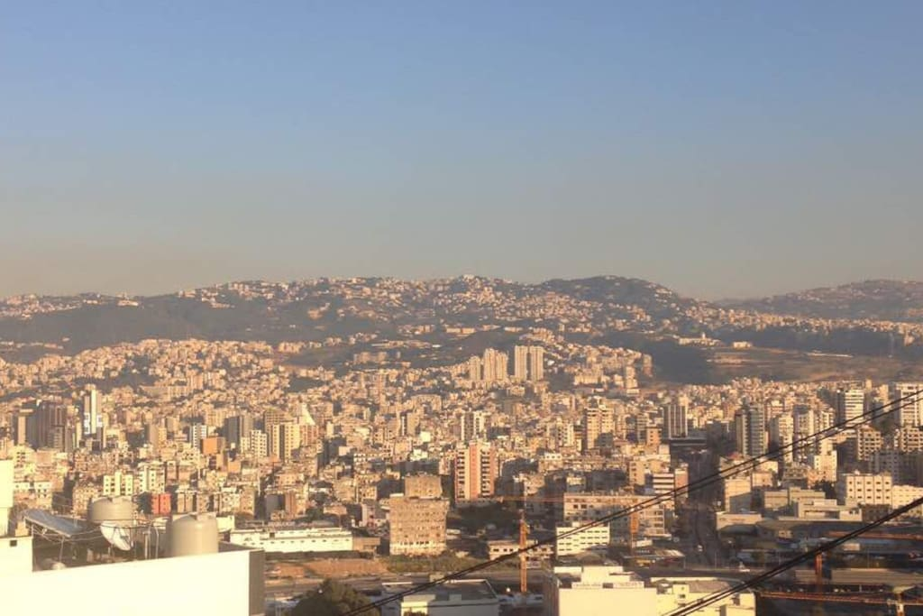 View on Beirut