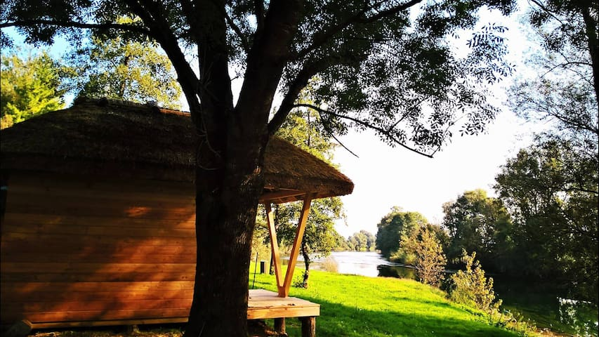 Glamping house on the river Kolpa - Gradac - Aamiaismajoitus