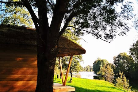 Glamping house on the river Kolpa - Gradac