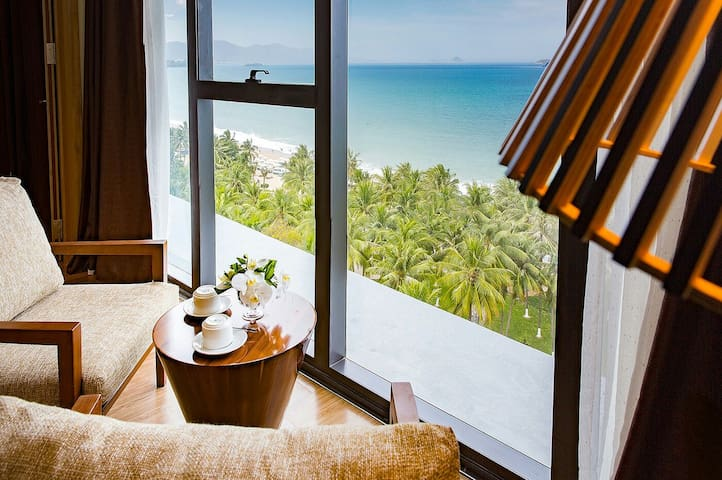 Comfy apt with stunning Ocean view - Thành phố Nha Trang - Appartement