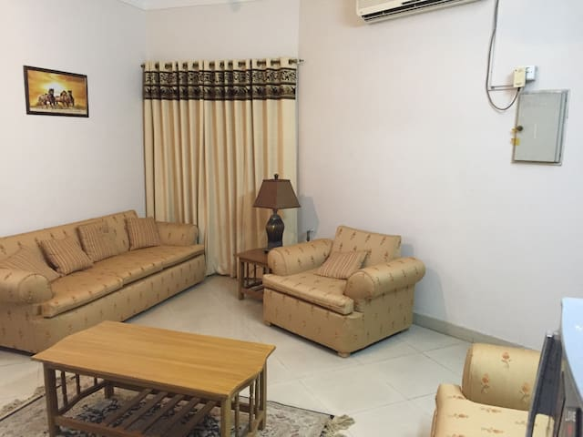 Bahria twn Ground 2 bed.family only.monthly rental