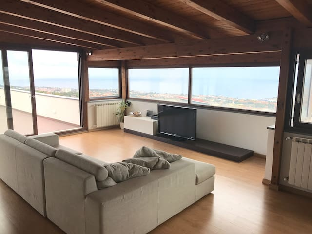 Panoramic Attic with big Terrace