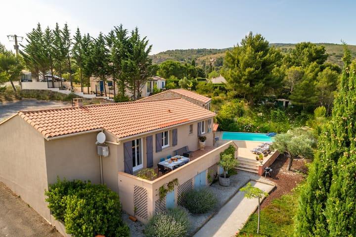 Serene Villa in Caunes-Minervois with Private Pool