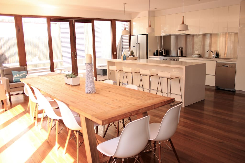 A space for everyone to enjoy meals together