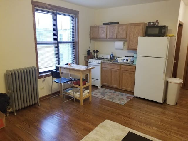 Clean, Convenient, Steps From Brown Line CTA Train