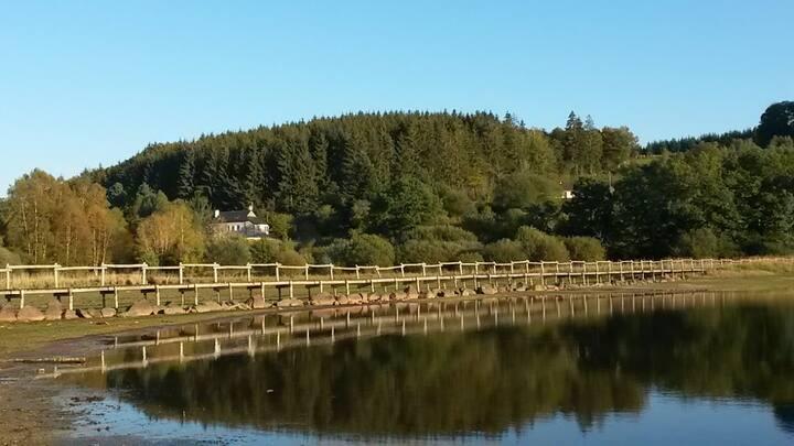La maison du lac Morvan