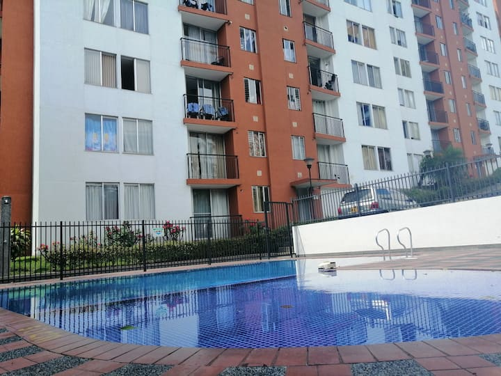 Apartamento en exclusivo sector residencial