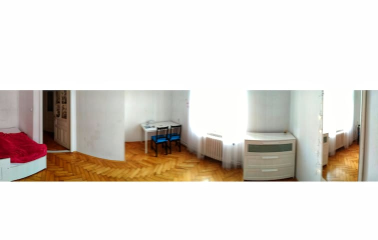 Room in a calm part of Karlin - 5 min to Florenc