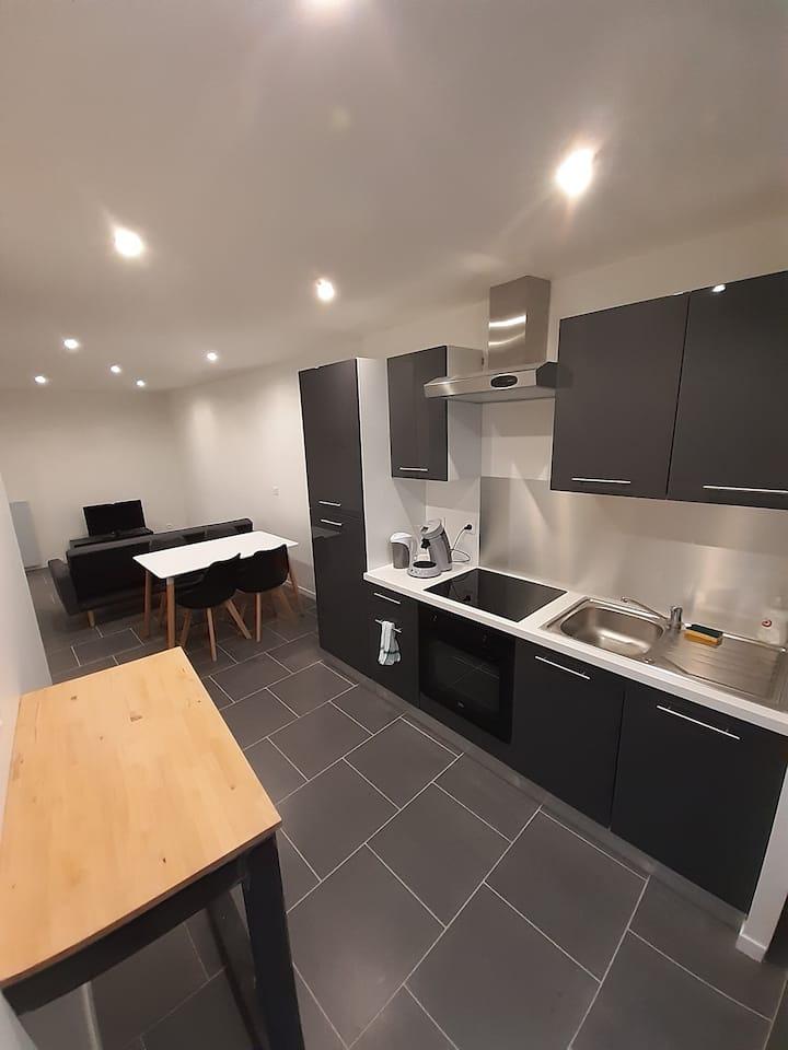 Appartement moderne et tout équipé
