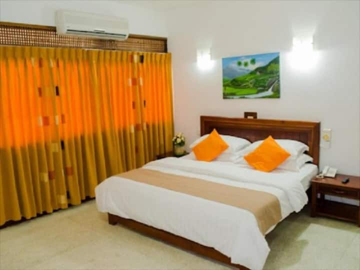 Double occupancy room with AC & WiFi
