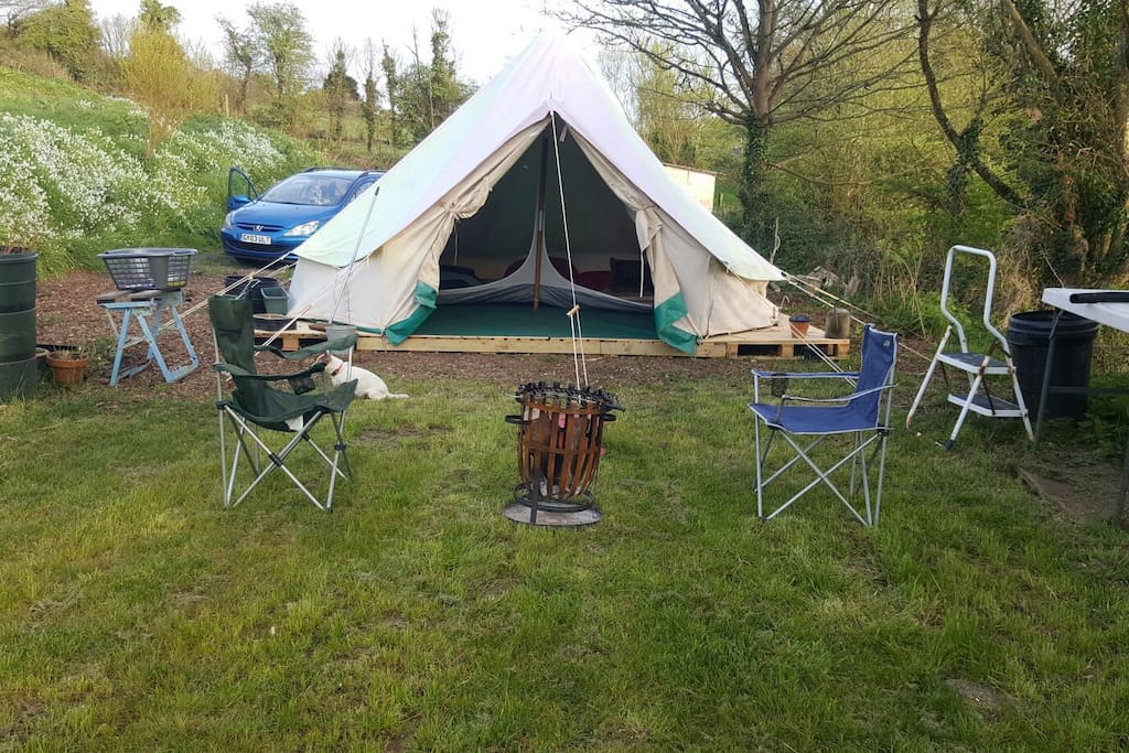 5m bell tent 2017