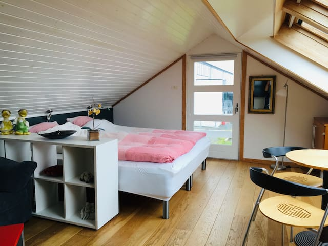Twin / double bed. Room No 1