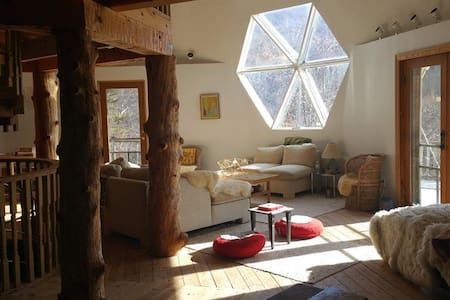 Geodesic Dome Home 8 mi from Omni Homestead Resort - Hot Springs