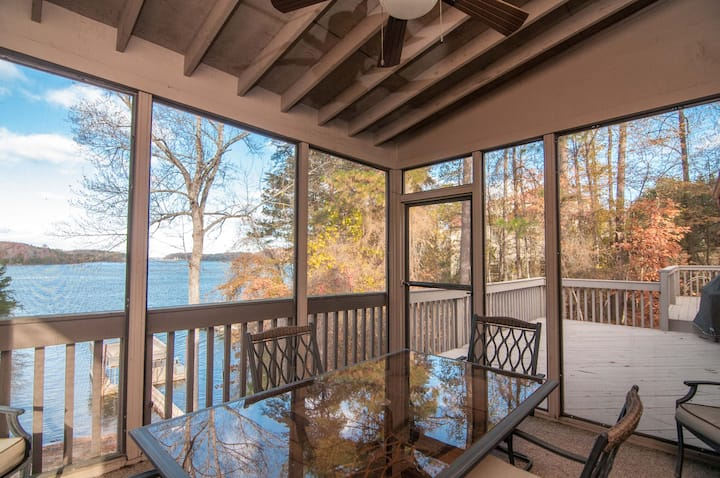Buford Family Vacation Home-Big Water Views, Dock
