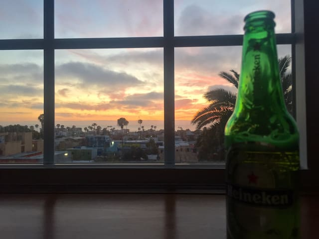 Beautiful view from Studio - Tijuana - Apartament