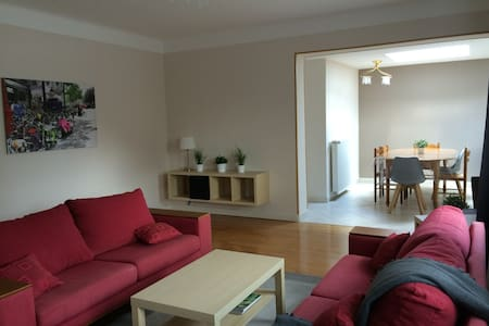 Grand appartement entre Bitche et Sarreguemines - Apartament