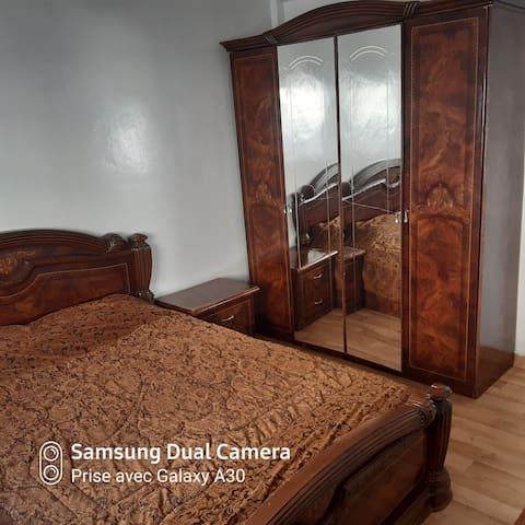Un bel appartement  meublé à louer par jour