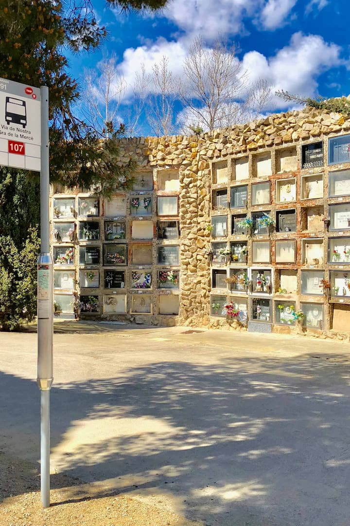 See the famous Montjuic Cemetery