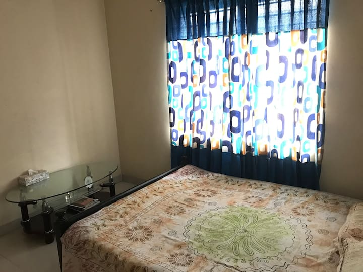 Comfortable and spacious apartment room