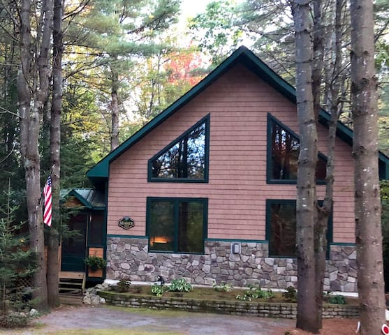 Adirondack Rustic Cabin