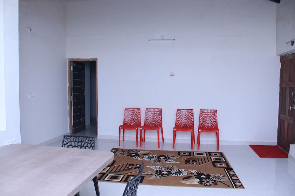 Common space for guests