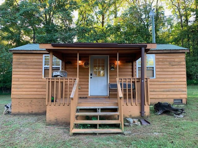 Adorable efficiency Pond Cabin located near river