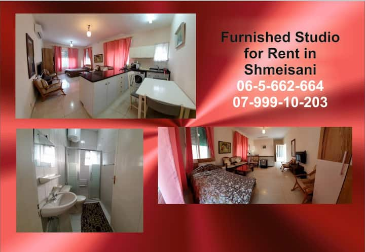 Furnished Studio in pleasant area West Amman