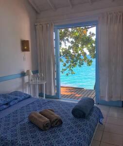 Casa da Ilha | Chalé da pedra | Suíte Aventureiro