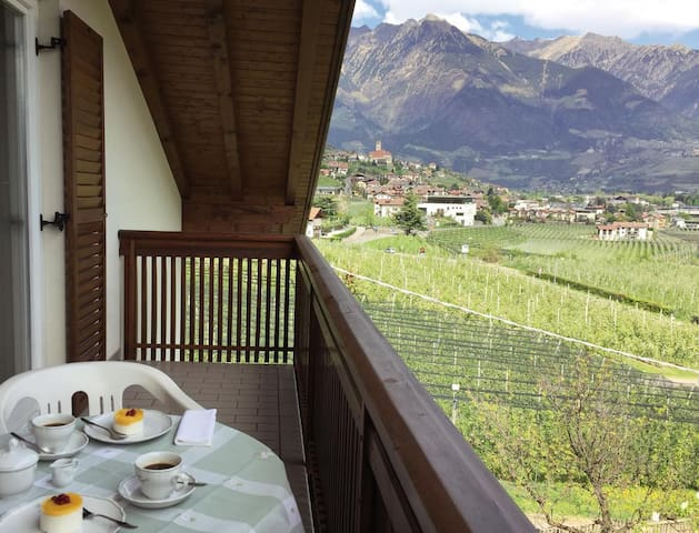 Charming Apartment II in Residence Margreth with Mountain View, Balcony, Garden, Terrace & Wi-Fi; Parking Available; Pets Allowed